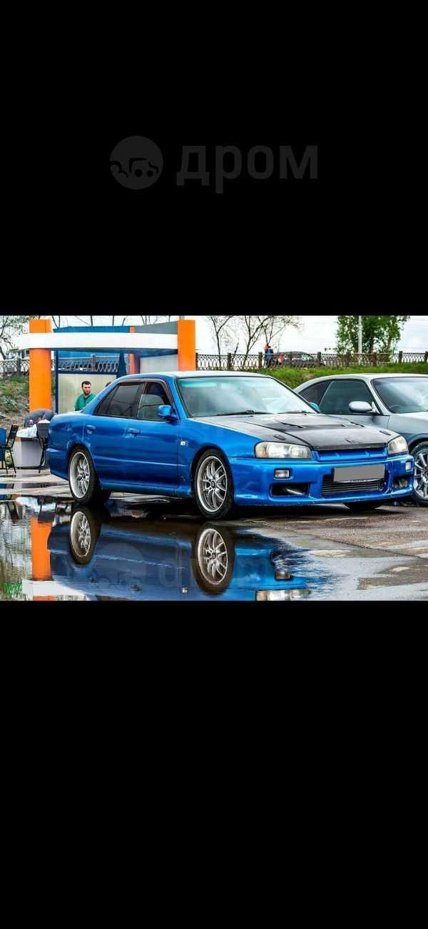 Nissan Skyline, 1998 год, 555 000 руб.