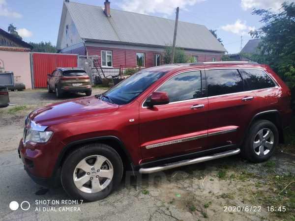 Jeep Grand Cherokee, 2012 год, 1 280 000 руб.