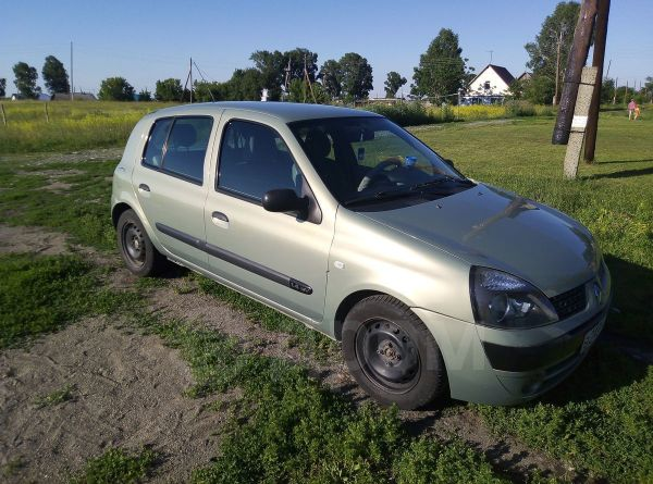 Renault Clio, 2003 год, 130 000 руб.