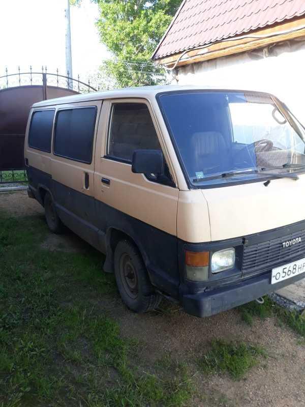 Toyota Hiace, 1989 год, 80 000 руб.