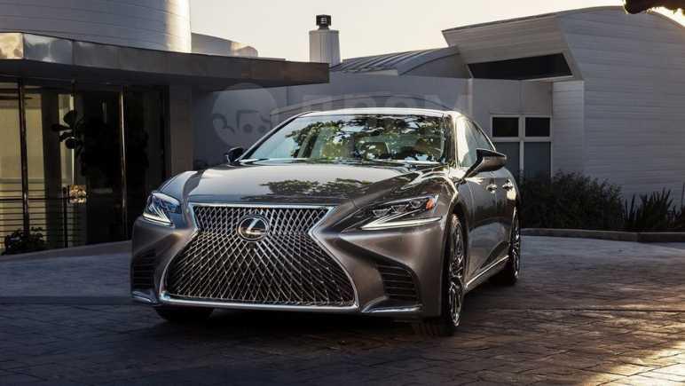 Lexus LS500, 2018 год, 5 900 000 руб.