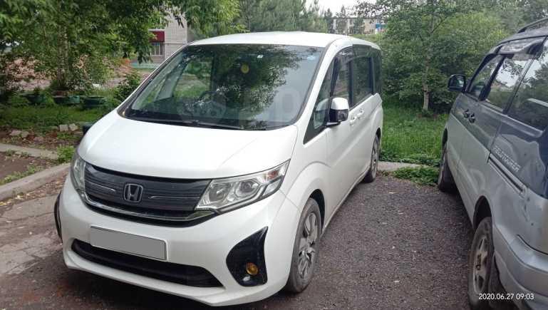 Honda Stepwgn, 2015 год, 1 105 000 руб.