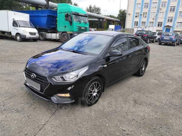 Hyundai Solaris, 2018 год, 740 000 руб.