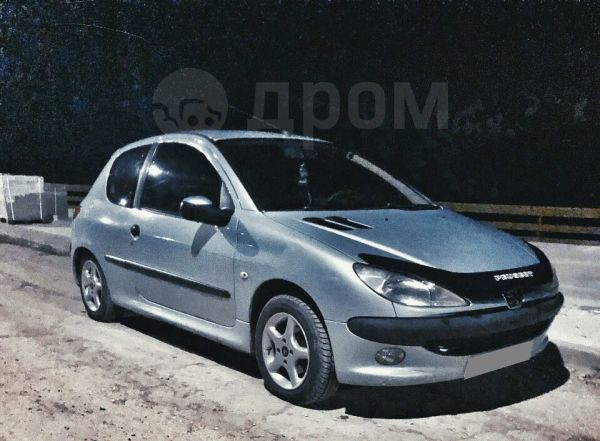 Peugeot 206, 2001 год, 165 000 руб.