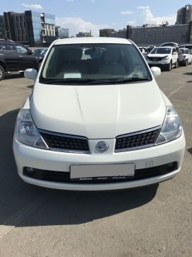 Иркутск Nissan Tiida 2007