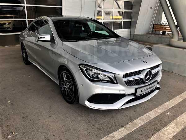 Mercedes-Benz CLA-Class, 2017 год, 1 719 000 руб.