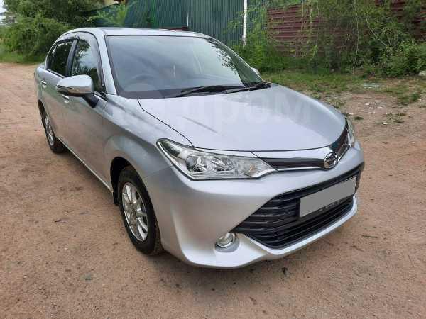 Toyota Corolla Axio, 2016 год, 678 000 руб.