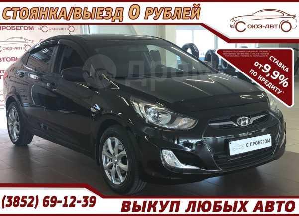 Hyundai Solaris, 2013 год, 528 000 руб.