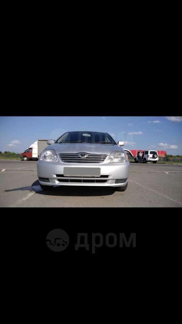 Toyota Corolla, 2002 год, 329 500 руб.