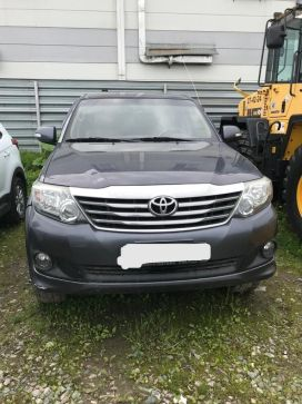Южно-Сахалинск Fortuner 2012