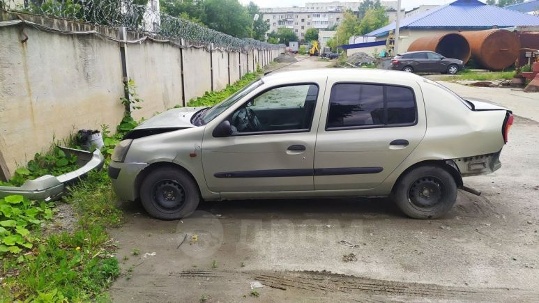 Renault Symbol, 2002 год, 50 000 руб.