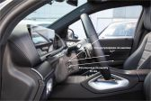 Mercedes-Benz GLE Coupe 201908 - Внутренние размеры