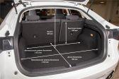 Haval F7x 2019 - Размеры багажника