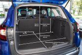 Renault Kaptur 2020 - Размеры багажника