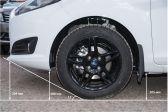 Ford Fiesta 201301 - Клиренс
