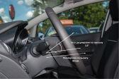 Ford Fiesta 201301 - Внутренние размеры