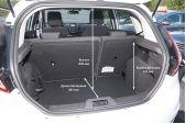Ford Fiesta 201301 - Размеры багажника