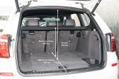 BMW X3 201406 - Размеры багажника