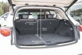 Infiniti QX70 2013 - Размеры багажника