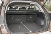 Haval H2 201507 - Размеры багажника