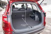 Changan CS75 201512 - Размеры багажника