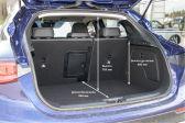 Infiniti QX30 2015 - Размеры багажника