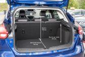Ford Focus 201403 - Размеры багажника