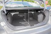 Ford Focus 2014 - Размеры багажника