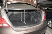 Hyundai Solaris 2014 - Размеры багажника