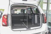 Renault Duster 2015 - Размеры багажника
