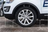 Ford Explorer 2014 - Клиренс