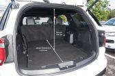 Ford Explorer 2014 - Размеры багажника