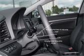 Hyundai Elantra 201509 - Внутренние размеры