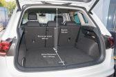 Volkswagen Tiguan 201601 - Размеры багажника