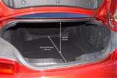 Chevrolet Camaro 2015 - Размеры багажника