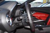 Chevrolet Camaro 2015 - Внутренние размеры