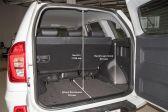 Chery Tiggo 3 201404 - Размеры багажника
