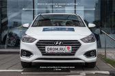 Hyundai Solaris 201702 - Внешние размеры