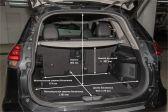 Nissan X-Trail 201703 - Размеры багажника