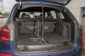BMW X3 201706 - Размеры багажника