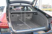 Audi A7 2017 - Размеры багажника