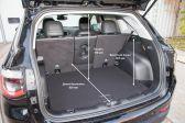 Jeep Compass 201609 - Размеры багажника