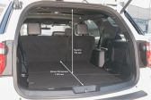 Ford Explorer 2018 - Размеры багажника