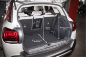 Citroen C3 Aircross 2017 - Размеры багажника
