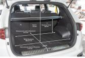 Kia Sportage 201805 - Размеры багажника