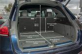 Mercedes-Benz GLE 201809 - Размеры багажника