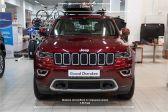 Jeep Grand Cherokee 201801 - Внешние размеры