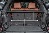 BMW X7 2018 - Размеры багажника