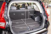 Geely Emgrand X7 201901 - Размеры багажника