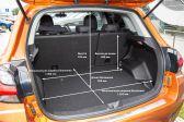 Mitsubishi ASX 2019 - Размеры багажника